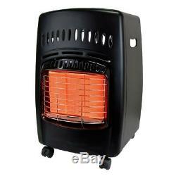 Dyna-glo Chauffage Portatif Intérieur 18k Btu 3 Chaleur Réglages Gaz Propane Radiant
