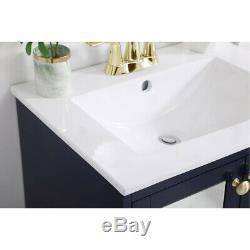 Éclairage Élégant Vf2101mrbl Mason Bleu Set Vanity Sink