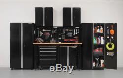 Ensemble D'armoires De Garage En Acier Husky Ultimate, Organisateur De Rangement Pour Outils De Garage, 8 Pièces