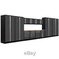 Ensemble D'armoires De Rangement De 14 Pièces De La Série Newage Products Pro 3.0