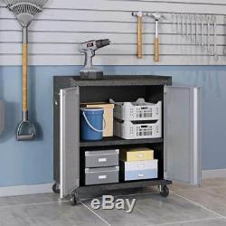 Ensemble De Garage En Acier À 3 Compartiments En Gris ID 3788440