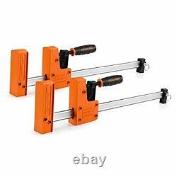 Ensemble De Pinces À Barres, 2-packs 90° Parallel Clip Cabinet Master, Steel Jaw Bar 18