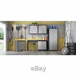 Ensemble De Rangement Flottant Pour Garage Simple À 2 Portes Et Double À 2 Portes
