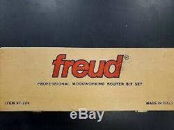 Freud 3 Piece Premier Réglable Router Cabinet Set Bit (1/2 Shank) (97-204)