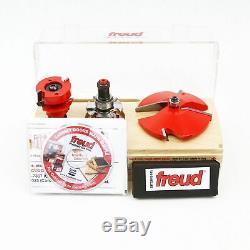 Freud 97-150 3 Piece Premier Cabinet Réglable Porte Set Bit