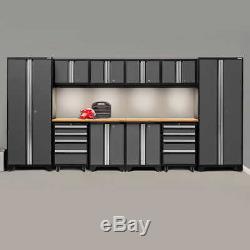 Garage Newage De Rangement En Acier Armoires De Rangement Pour Outils Workbench Verrouillage Set 12 Pièces
