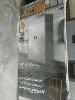 Gladiator Garage Acier Mur Cabinet Set 7 Pièces (s'il Vous Plaît Lire La Description)
