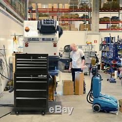 Grand Garage Boîte À Outils Atelier Coffre De Rangement En Rack De Verrouillage Haut Bas Tiroirs