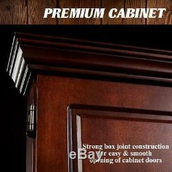 Hanging Dartboard Cabinet Set 18 Autorétablissement Épine 6 Steel Tip Darts Vols