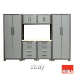 Hilka Professional Cabinet Modulaire En Acier 7 Pièces En Acier 7 Pièces