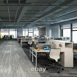 Home Bureau De Travail L-shaped Bureau D'ordinateur Avec Armoire De Rangement
