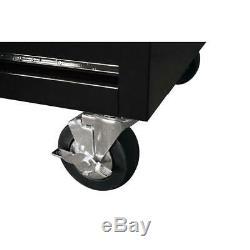Husky 41 À. 12 W-tiroir Profond Combinaison Coffre À Outils Et Set Cabinet Rolling In
