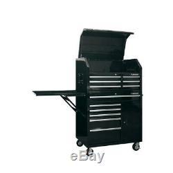 Husky Coffre À Outils Roulant Cabinet Set 41. W 12 Tiroirs Verrouillables Gloss Black