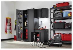 Husky Garage Cabinet Set 3-piece Steel Storage System Nouvelle Boîte Endommagée