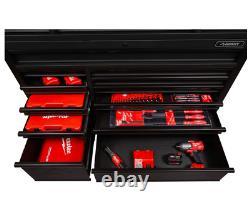 Husky Tool Storage Cabinet Set 23-drawer Chest Rolling Roues Acier Noir Matte