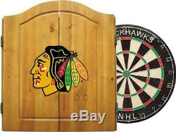 Imperial NHL Dart Sous Licence Officielle Ensemble Cabinet Avec L'acier Taille, Multi