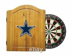 Imperial Officially Licensed NFL Merchandise Dart Cabinet Set With Steel Tip