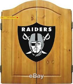 Impériale Sous Licence Officielle NFL Merchandise Cabinet Set Avec Embout En Acier Br