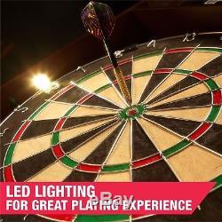 Jeu De Fléchettes En Bois Sport Avec Jeu De Fléchettes Avec Lumière Led Et Bout En Acier 6