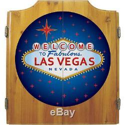 Las Vegas Bois Dart Set Cabinet. Gameroom Des Marques. Tout Neuf