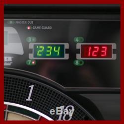 Le Coffret Électronique De Jeu De Fléchettes Bullshooter Cricket Maxx 5.0 Comprend 6