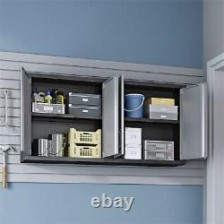 Manhattan Comfort Fortress 2 Door Floating Garage Cabinet (ensemble De 2)
