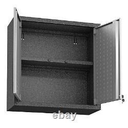 Manhattan Comfort Fortress 2 Porte Flottant Garage Cabinet (ensemble De 2)