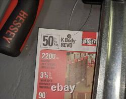 Marque Nouveau Jeu De 2 Bessey K-body Revo Barres Parallèles Pinces 50 Pouces. Kr3550 (bz)