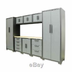 Mécanique Outil Professionnel Garage Bricolage Rangement 9 Piece Cabinet Set De Calibre 24 Au Royaume-uni