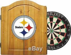 Merchandise NFL Imperial Licence Officielle Dart Cabinet Set Avec Acier Tip Br