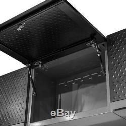 Métal De Garage Armoire De Rangement Set System Mechanic Coffre À Outils Atelier Stockage D'emploi
