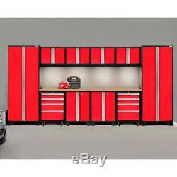 Meubles En Acier De Stockage De Garage En Métal De Garage De Voiture De L'atelier 12pc Réglé