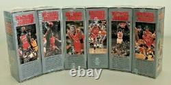 Michael Jordan U. D. Locker Série 1991 Ensemble Complet 1-6 Boîtes Scellées Tout Neuf
