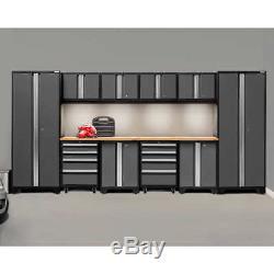 Mobilier De Rangement En Métal Pour Garage Automobile, 12 Pièces
