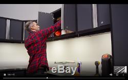 Mobilier En Acier D'organisateur De Stockage De Garage De Voiture De L'atelier 10pc De Coffret En Acier D'entrepôt