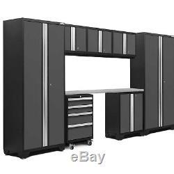 Newage Products Bold 3.0 - Ensemble D'armoires De Rangement 8 Pièces