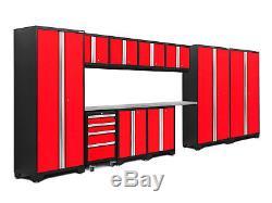 Newage Products Bold 3.0 Ensemble D'armoires De Rangement De 12 Pièces