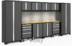 Newage Products Bold 3.0 Série Armoire De Rangement 12 Pièces Set Pour La Maison Et Le Garage