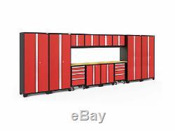 Newage Products Bold 3.0 Série Ensemble D'armoires De Garage De 14 Pièces