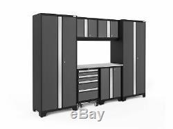 Newage Products Bold 3.0 Série Ensemble D'armoires De Rangement 7 Pièces