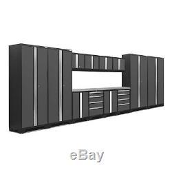 Newage Products Bold 3.0 Série Ensemble D'armoires De Rangement De 14 Pièces