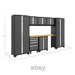 Newage Products Bold 3.0 Série Storage Cabinet 8-piece Set