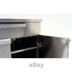Newage Products Ensemble D'armoires De Cuisine D'extérieur En Acier Inoxydable Classique, 5 Pièces