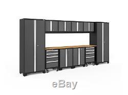 Newage Products - Ensemble D'armoires De Rangement De 12 Pièces, Série Bold 3.0
