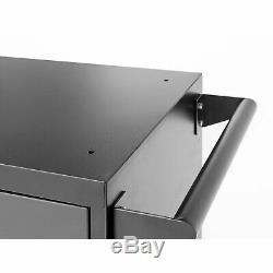 Newage Products Gras 3.0 6 Pces Steel Garage Workbench Armoires Gris Boîte À Outils