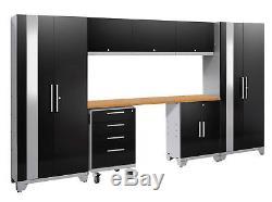 Newage Products Performance 2.0 Ensemble D'armoires De Rangement 8 Pièces