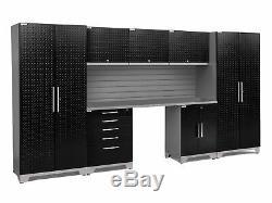 Newage Products Performance Plus 2.0 Ensemble De 8 Armoires De Rangement, 8 Pièces