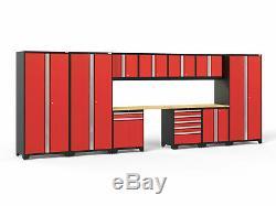 Newage Products Pro 3.0 Ensemble D'armoires De Rangement De 12 Pièces