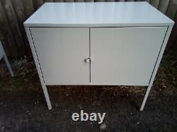 Petit Bureau Home- Home Office Steel Stackable Cabinets Ensemble De Trois