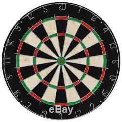 Professional Dart Set En Acier Et Dartboard Cabinet Sisal Intérieur Sport